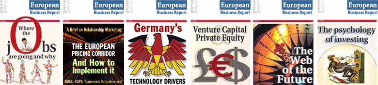 European Business Report Covers